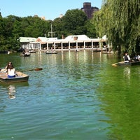 Photo taken at Central Park Boathouse by Frank B. on 6/15/2012
