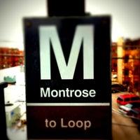 Photo taken at CTA - Montrose by Craig N. on 12/16/2011