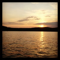Photo taken at Deep Creek Lake by Rachel C. on 7/6/2012