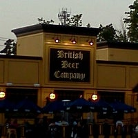 Photo taken at The British Beer Company by Celeste S. on 8/16/2012