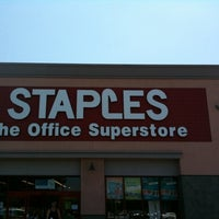 Photo taken at Staples - CLOSED by Brent H. on 8/8/2011