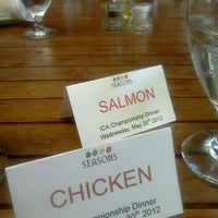 Photo taken at Seasons Restaurant by Jennifer P. on 5/31/2012