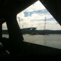 Photo taken at Crown Point Bridge Ferry by Jenn R. on 7/22/2011