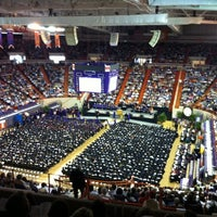 Photo taken at Littlejohn Coliseum by Thierry W. on 5/13/2011