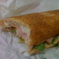 Photo taken at Subway by Lígia R. on 3/10/2012