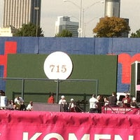 Photo taken at Hank Aaron 715 Home Run Marker by Carey H. on 10/23/2011