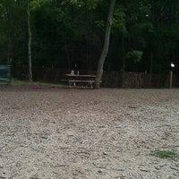 Photo taken at Warnimont Dog Park by Ashley W. on 9/23/2011