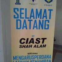 Photo taken at Pusat Latihan Pengajar dan Kemahiran Lanjutan (CIAST) by Mukriiz® D. on 3/2/2012