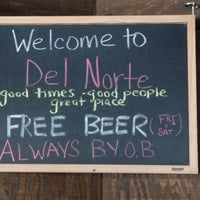 Photo taken at Del Norte Taco by Mark L. on 4/25/2012