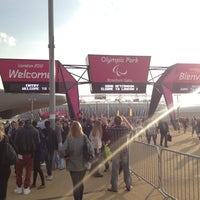 Photo taken at London 2012 Olympic Park by Nikita K. on 9/1/2012
