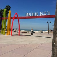 Photo taken at Imperial Beach Pier by Jason W. on 4/3/2012
