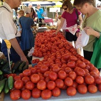 Photo taken at Broad Ripple Farmers Market by Lorraine B. on 7/21/2012