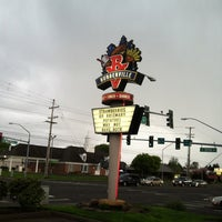 Photo taken at Burgerville, USA by Luke O. on 4/27/2012