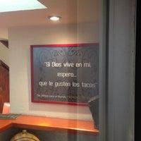 Photo taken at Taqueria Arandas by Sergio S. on 6/3/2012
