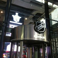 Photo taken at NHL Store Powered by Reebok by MaryEllen Z. on 5/4/2012