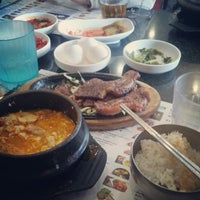 Photo taken at BCD Tofu House by katherine k. r. on 7/4/2012