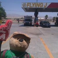 Photo taken at Flying J by Misty L. on 6/15/2012