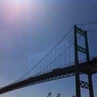Photo taken at Vincent Thomas Bridge by grace k. on 5/15/2012