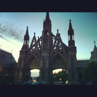Photo taken at Green-Wood Cemetery by Lauren T. on 6/3/2012