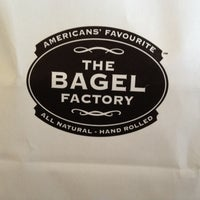 Photo taken at The Bagel Factory by Edi on 9/1/2012