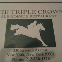Photo taken at The Triple Crown Ale House & Restaurant by Joseph H. on 4/15/2012