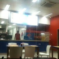 Photo taken at Domino's Pizza by Fernanda R. on 4/26/2012