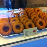 Photo taken at hara donuts by Jay on 6/17/2012