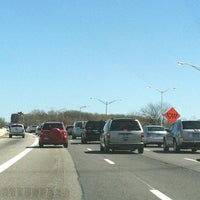 Photo taken at Interstate 278 (Staten Island Expy) by Samantha B. on 4/7/2012