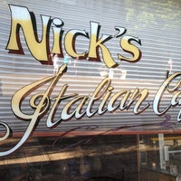 Photo taken at Nick's Italian Cafe by Paul B. on 7/15/2012