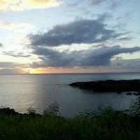 Photo taken at Pupukea Beach Park by James K. on 6/29/2012