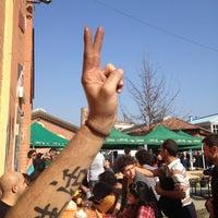 Photo taken at Mercato della Terra by Bea on 3/3/2012