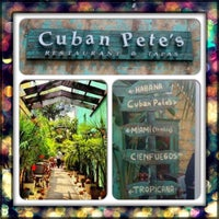 Photo taken at Cuban Pete's by 🌟✨💋MiCHELLE💋✨🌟 on 8/25/2012