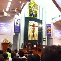 Photo taken at Church of Our Lady Of Perpetual Succour by Sam A. on 2/26/2012