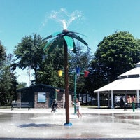 Photo taken at Westfield Municipal Spray Park by Xtian M. on 6/16/2012