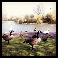 Photo taken at Leazes Park by Rafa L. on 4/4/2012