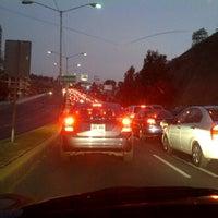 Photo taken at Av. Carlos Lazo by winniepomez on 2/22/2012