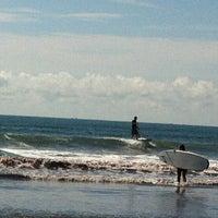 Photo taken at Easton's Beach by Elayne B. on 8/26/2012