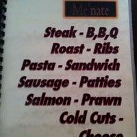 Photo taken at Me'nate Steak Hub by Win on 2/4/2012