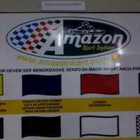 Photo taken at Amazon Kart Indoor by Matheus F. on 9/7/2012