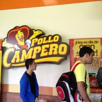 Photo taken at Pollo Campero by Andres Z. on 2/16/2012
