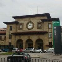 Photo taken at Estación de Oviedo by Pepe M. on 4/11/2012