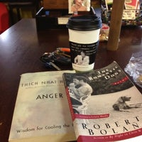 Photo taken at Atticus Coffee, Books and Teahouse by Sam N. on 8/22/2012
