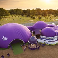 Photo taken at London 2012 Live Site - Hyde Park by Cadbury U. on 7/29/2012