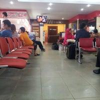 Photo taken at Bandara Sultan Thaha Syaifuddin (DJB) by Gilang K. on 6/20/2012