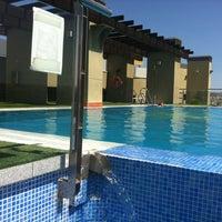 Photo taken at Hotel Córdoba Center by Antonio Luis T. on 8/27/2012
