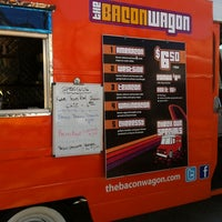 Photo taken at The Bacon Wagon by Ana H. on 2/26/2012