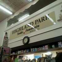 Photo taken at Highland Park Old-Fashioned Soda Fountain by Natalie B. on 3/3/2012