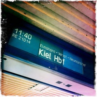 Photo taken at Bahnhof Pinneberg by Peter R. on 6/30/2012