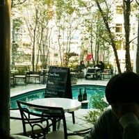 Photo taken at 347cafe by 夏樹 浅. on 3/27/2012