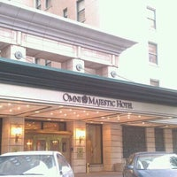 Photo taken at Omni Majestic Hotel by Nicki L. on 5/12/2012